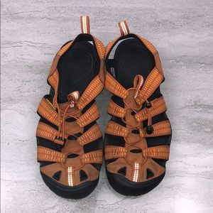 Keen Men's Clearwater CNX Sandals Orange